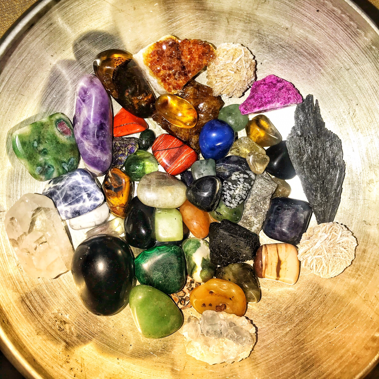 Crystals and Things….