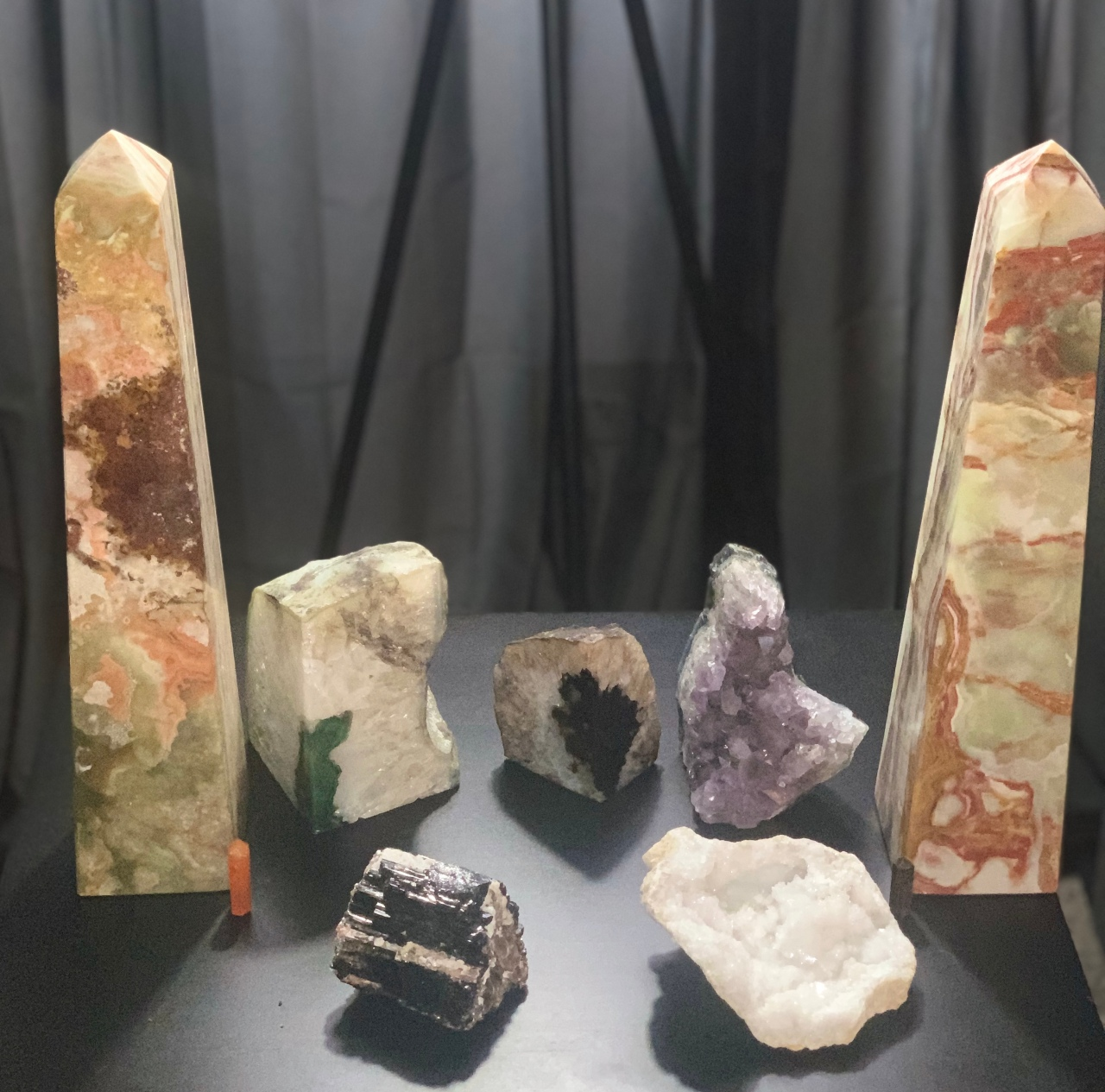 Updated Crystal Collection and Short Reiki Session
